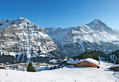 Grindelwald in Winter