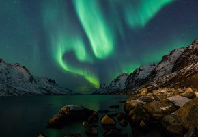 Northern Lights over Kirkenes Norway