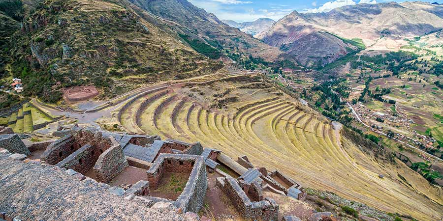 Pisac Ruins and Terraces