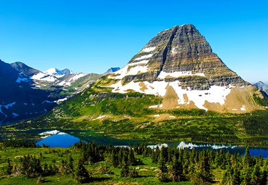 Glacier National Park Bear Hat Mountain