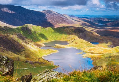 Snowdonia National Park Wales