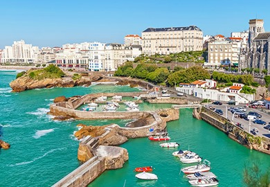 Port In Biarritz